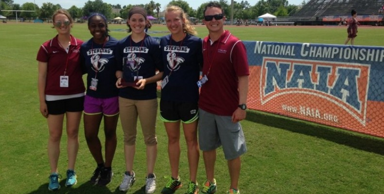 Photo for Women's Track & Field Named Buffalo Funds Five Star  Champions of Character Team Award Winners