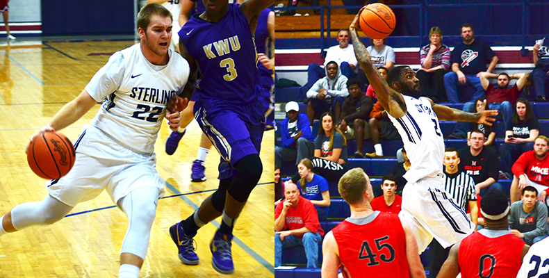 Photo for Givens, Williams Earn All-KCAC Honors For Men's Basketball