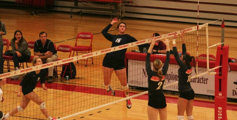 Photo for Volleyball Ends Season With 3-1 Loss To Friends