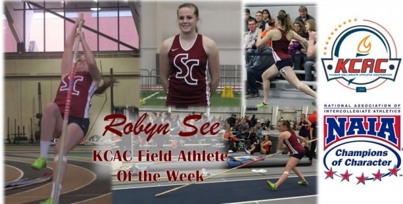Photo for See Named KCAC Field Athlete of the Week