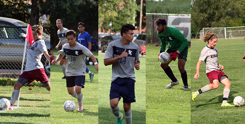 Photo for Five Warriors Named As Men's Soccer All-Conference Award Winners
