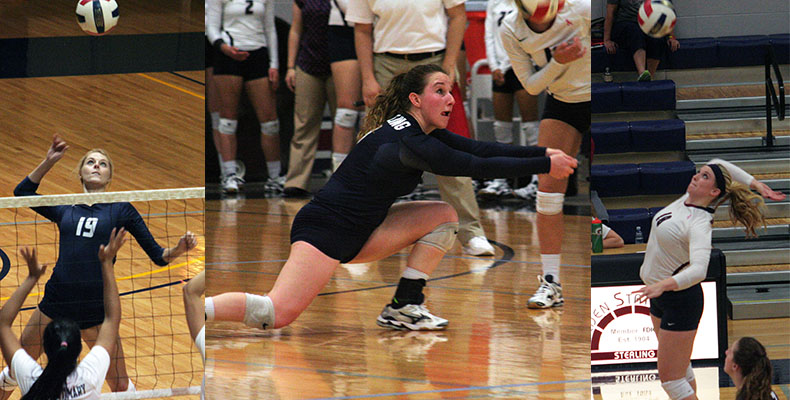 Photo for Three Lady Warriors Named To All-Conference Volleyball Teams
