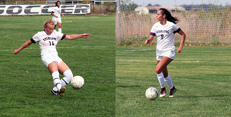 Photo for Two Lady Warriors Recognized As Women's Soccer All-Conference Award Winners