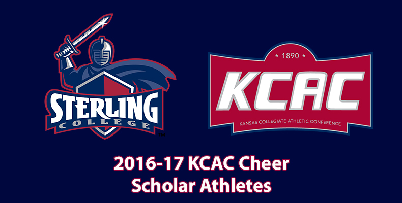 Photo for Three Warriors Named KCAC Cheer Scholar Athletes