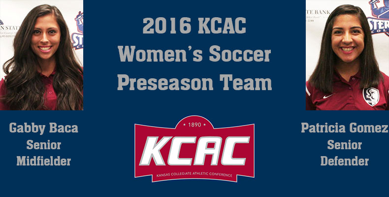 Photo for G. Baca And Gomez Named To KCAC Women's Soccer Preaseason Team