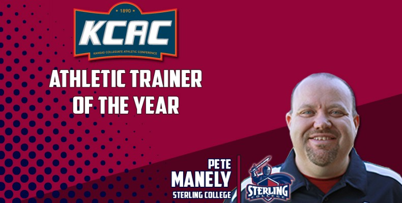 Photo for Pete Manely Named KCAC Athletic Trainer of the Year