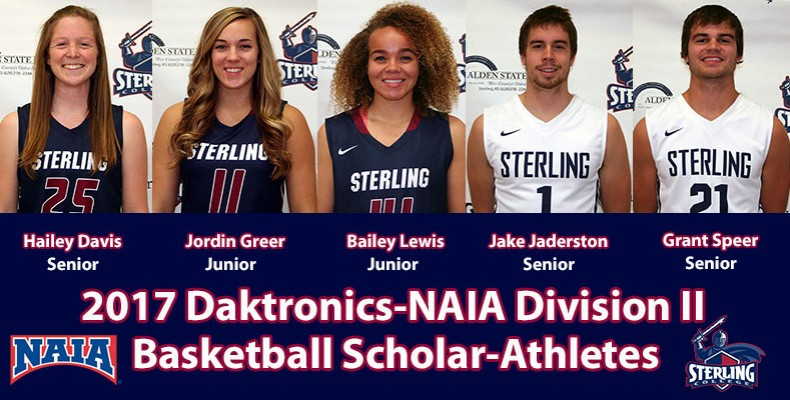 Photo for Five Basketball Warriors Named As Daktronics-NAIA Scholar-Athletes