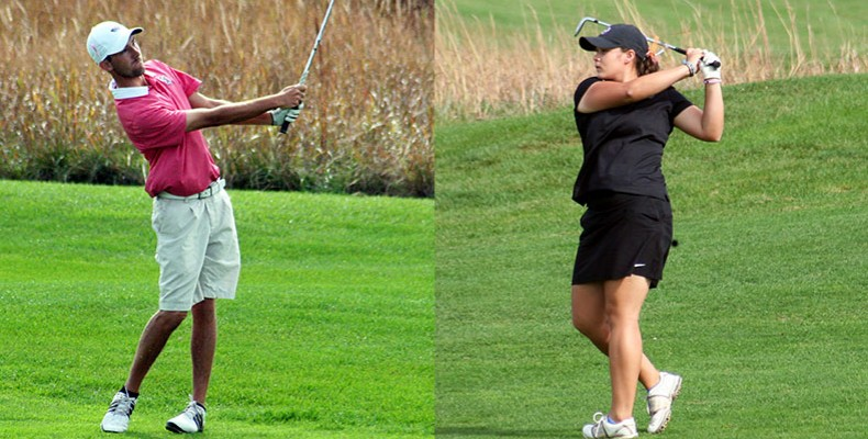 Photo for Men's Golf Finishes Fourth, Women Finish Seventh At Kansas Prairie Invitational