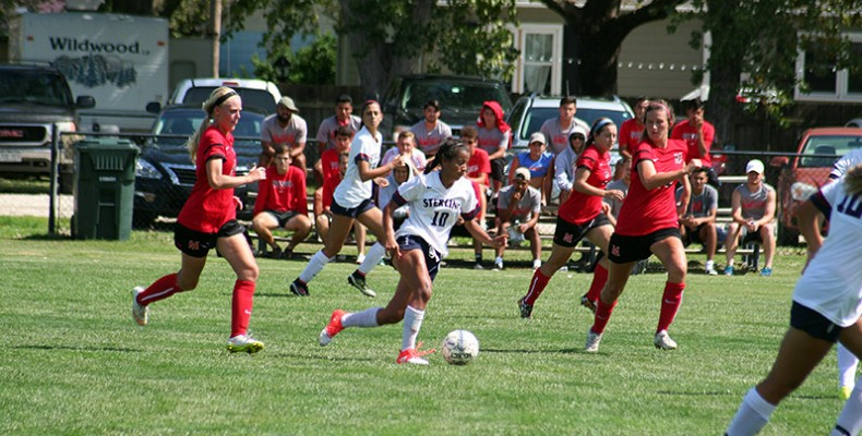 Photo for Women's Soccer Comes Up Short in 2-1 Loss To Central Christian