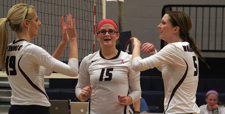 Photo for Volleyball Starts Out Strong Early, Sweeps Bethel, 3-0