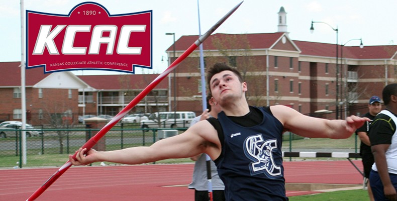 Photo for Isaac Ostrosky Named KCAC Men's Field Athlete of the Week