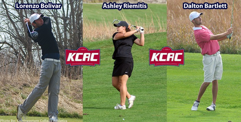 Photo for Three Warriors Named to the 2017 KCAC Preseason Golf Teams