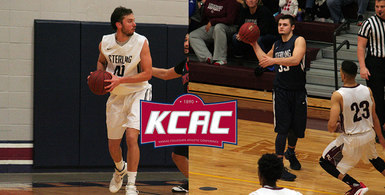 Photo for Ray, Ostrosky Earn All-KCAC Honors For Men's Basketball