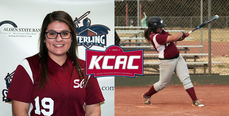 Photo for Grass Earns KCAC Softball Player of the Week Award