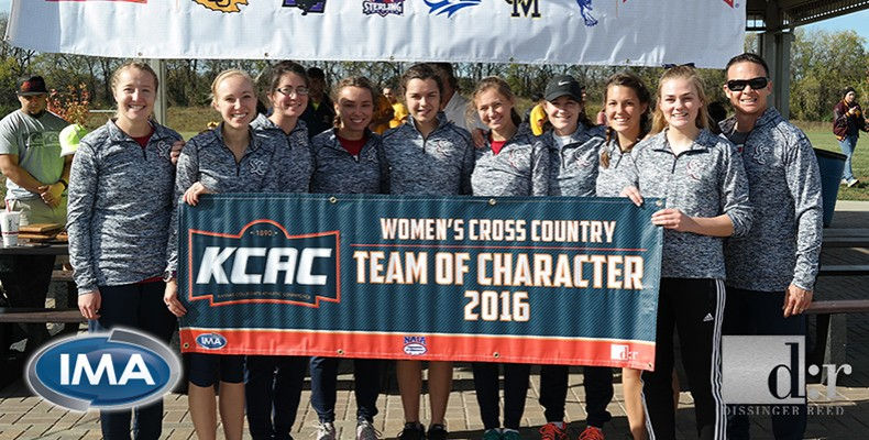 Photo for Women's Cross Country Earns 2016 KCAC Team of Character Award
