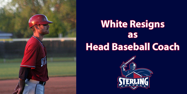 Photo for White Resigns as Head Baseball Coach At Sterling College