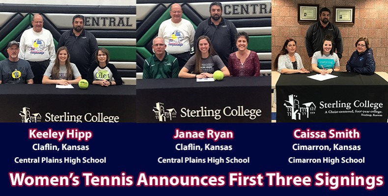 Photo for State Champions Among First Signings For Women's Tennis