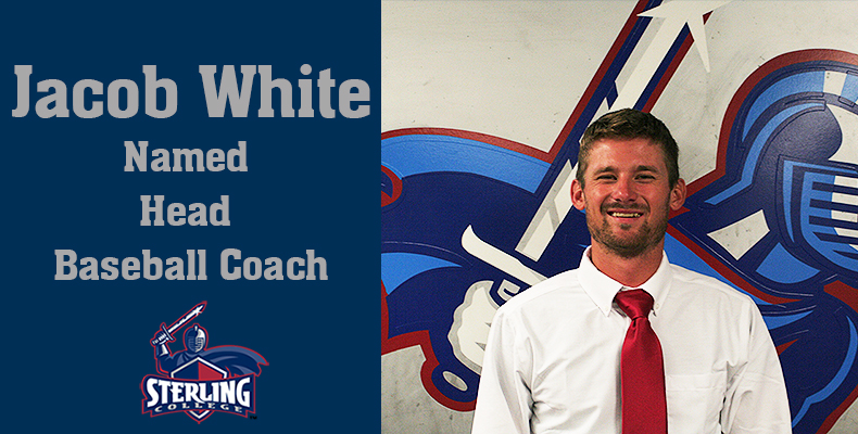 Photo for Jacob White Named Head Baseball Coach at Sterling
